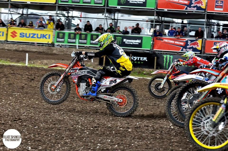 HSL in the MXGP of Great Britain !