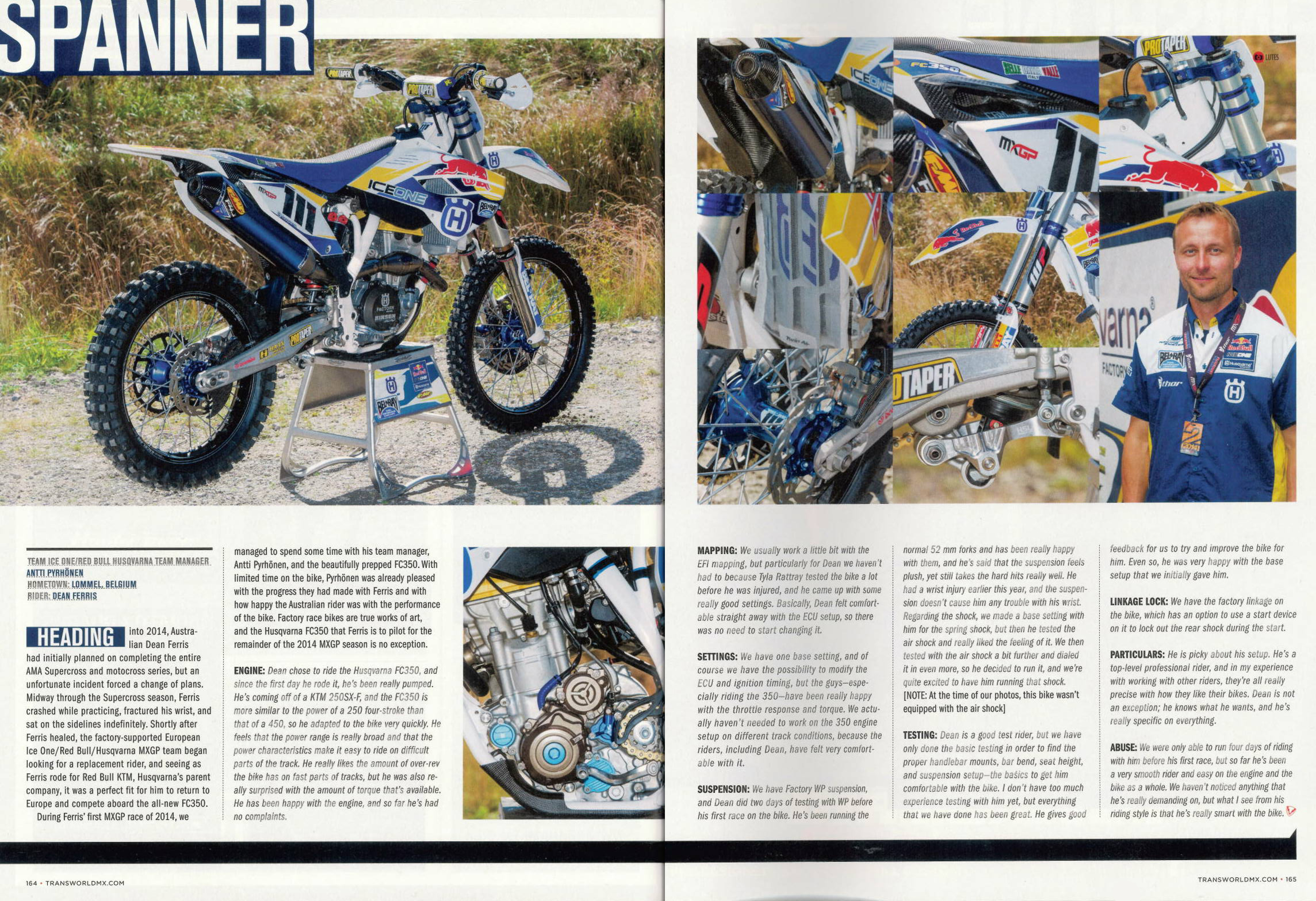 HSL in Transworld MX magazine !